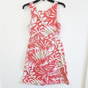 Tommy Bahama Dresses - Tommy Bahama Coral Tropical Print Sundress XS